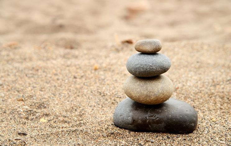 Balans stenen. Als jij voor het Nu zorgt, dan zorgt het Nu voor jouw toekomst